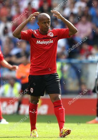 Robert Earnshaw of Cardiff City United Kingdom Cardiff