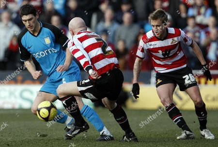 Editorial photo of Doncaster Rovers V Aston Villa - 24 Jan 2009