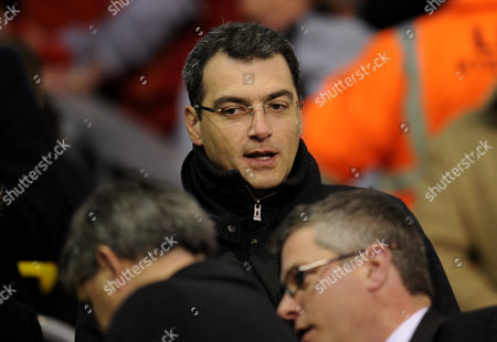Director of Football Strategy Damien Comolli of Liverpool United Kingdom Liverpool