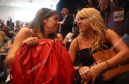 An Emotional Dalma Maradona Daughter of Diego and His Ex Wife Claudia Villafane During the Press Conference Announcing Him As the New Coach of Argentina Argentina Buenos Aires
