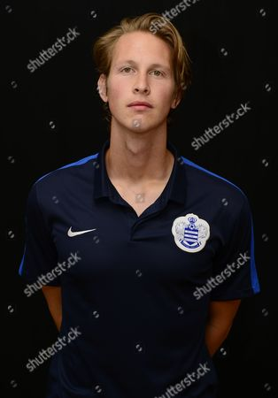 Stock Photo of Qpr Under-21s Strength and Conditioning Coach Ross Bennett United Kingdom Harlington