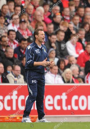Stock Image of Paul Groves of West Ham United United Kingdom Stoke