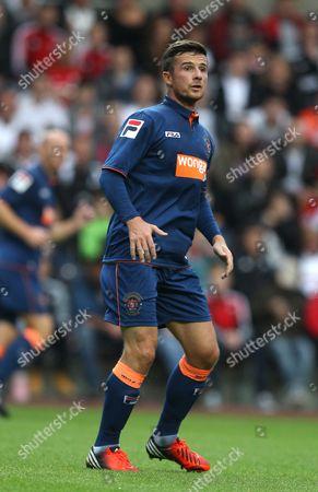 Barry Ferguson of Blackpool United Kingdom Swansea