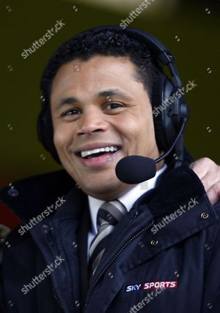 Sky Sports Pundit / Commentator John Salako United Kingdom London