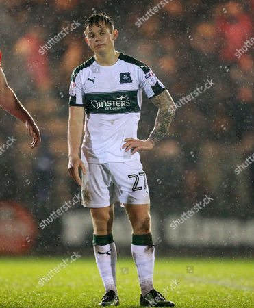 Editorial photo of Plymouth Argyle v Blackpool, Sky Bet League Two, Football, Home Park, Plymouth, UK - 07 Mar 2017