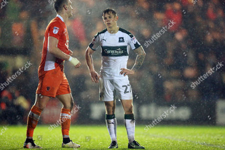 Editorial image of Plymouth Argyle v Blackpool, Sky Bet League Two, Football, Home Park, Plymouth, UK - 07 Mar 2017