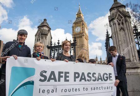 Editorial photo of The Dubs Amendment rally, London, UK - 07 Mar 2017