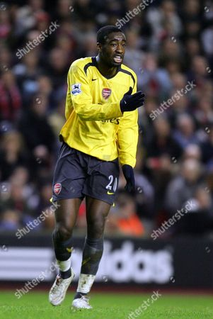 Johann Djourou of Arsenal