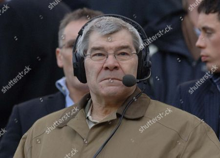 Malcolm MacDonald, former Newcastle and England striker, working as a radio analyst