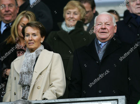 Wigan Athletic chairman David Whelan and his wife return from Barbados to see the game