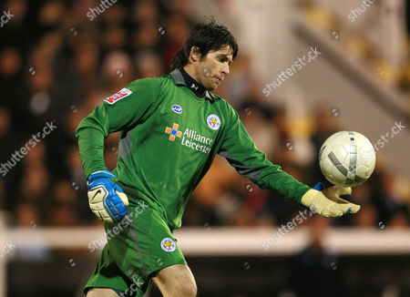 Leicester City goalkeeper Paul Henderson