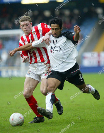 Editorial image of FA Cup\fa Cup 3rd Round\fulham V Cheltenham Town - 03 Feb 2003