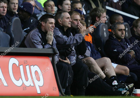 A dejected Southend United manager Steve Tilson