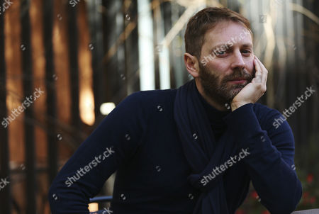 Belgian film maker Guillaume Senez poses during an interview held in Barcelona, Catalonia, Spain on 07 March 2017 during the presentation of his last film 'Keeper'