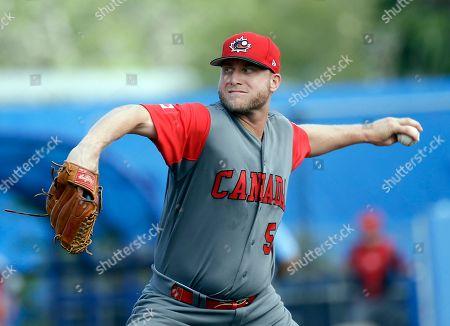 Editorial picture of Canada v Toronto Blue Jays, Spring training exibition baseball game, Dunedin, USA - 07 Mar 2017