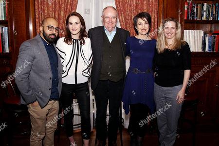 Ritesh Batra, Michelle Dockery Jim Broadbent, Harriet Walter, Dr. Amanda Foreman