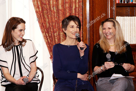 Michelle Dockery, Harriet Walter, Dr. Amanda Foreman