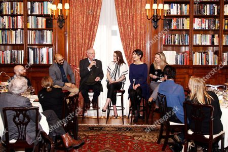 Ritesh Batra, Jim Broadbent, Michelle Dockery, Harriet Walter, Dr. Amanda Foreman