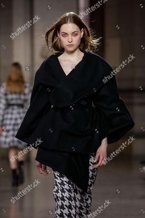 Editorial photo of Moon Young Hee show, Runway, Autumn Winter 2017, Paris Fashion Week, France - 07 Mar 2017