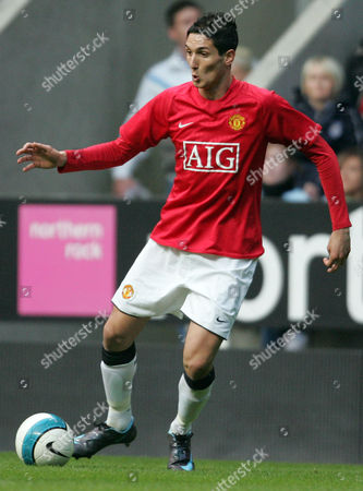 Frederico Macheda of Manchester United Reserves