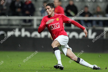 Stock Image of Frederico Macheda of Manchester United Reserves