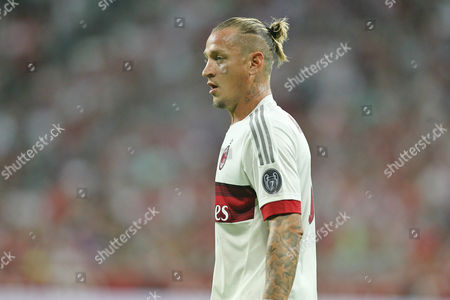 Philippe Mexes of Ac Milan During the Audi Cup Semi Final Played at the Allianz Arena in Munich Germany Germany Munich