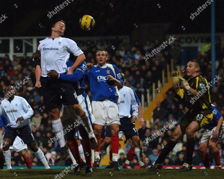 Editorial photo of FA Barclays Premiership portsmouth V Bolton Wanderers - 01 Feb 2006