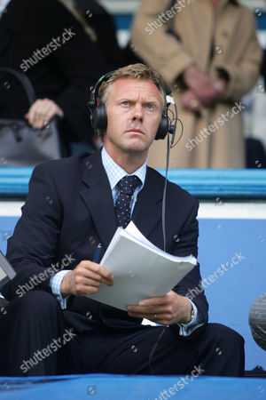 Former Newcastle United player, and now TV co-commentator, Warren Barton