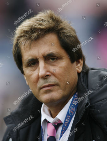 Stade Francais President Max Guazzini.