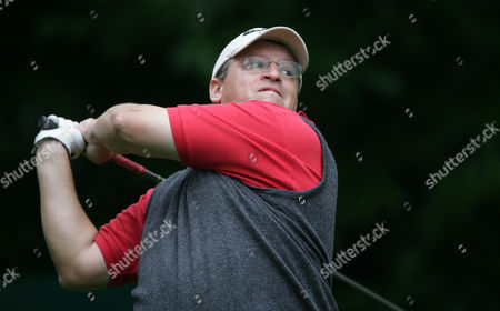 French businessman PY Gerbeau appears at the Pro Am