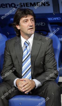 Jose Mari Bakero, manager of Real Sociedad