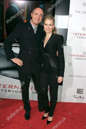 Stock Picture of President of Thierry Mugler, Joel Palix and Naomi Watts