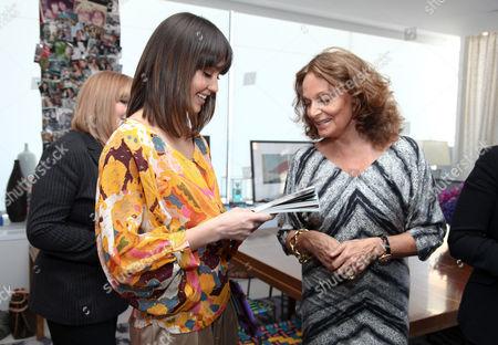 Jessica Alba, Diane von Furstenberg