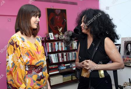 Jessica Alba  and Diana Ross