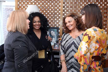 Catherine Alba (Jessica's mother), Diana Ross, Diane von Furstenberg, Jessica Alba