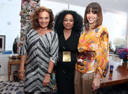 Diane von Furstenberg, Diana Ross, Jessica Alba
