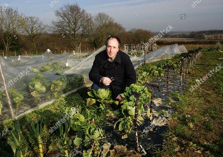 Adam Nicolson in the grounds of Sissinghurst Castle