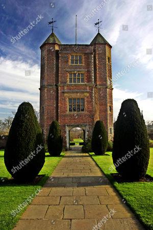 Sissinghurst Castle and garden, Kent, England, Britain
