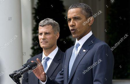 Editorial image of Usa Obama Krueger Nomination - Aug 2011