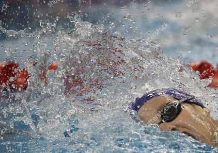 Great Britain's Joanne Jackson Swims During the Women's 200m Freestyle Heat at the 2011 Fina World Swimming Championships Shanghai China 26 July 2011 China Shanghai