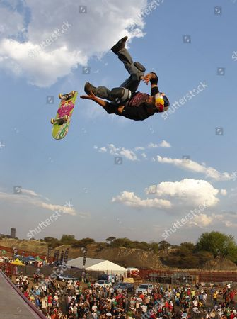 Editorial image of South Africa Skateboarding World Champs - Oct 2011