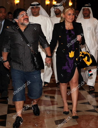 Editorial photo of Uae Soccer Al Wasl Maradona - Sep 2011