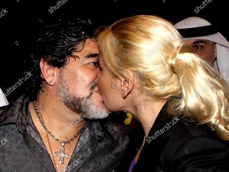 Editorial image of Uae Soccer Al Wasl Maradona - Sep 2011