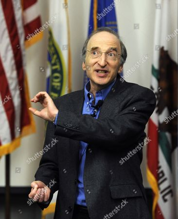 Astrophysics Professor Saul Perlmutter During a Press Conference at the University of California at Berkeley California Usa 04 October 2011 After He was Awarded the Nobel Prize in Physics the Nobel Prize in Physics was Awarded with One-half to Saul Perlmutter and the Other Half Jointly to Brian P Schmidt and Adam G Riess 'For the Discovery of the Accelerating Expansion of the Universe Through Observations of Distant Supernovae ' United States Berkeley