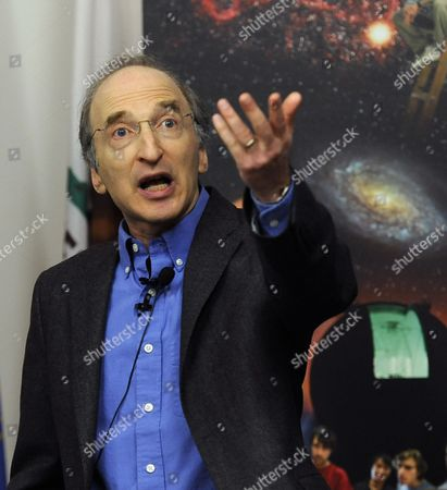 Stock Image of Astrophysics Professor Saul Perlmutter During a Press Conference at the University of California at Berkeley Lawrence Berkeley National Laboratory in Berkeley California Usa 04 October 2011 After He was Awarded the Nobel Prize in Physics the Nobel Prize in Physics was Awarded with One-half to Saul Perlmutter and the Other Half Jointly to Brian P Schmidt and Adam G Riess 'For the Discovery of the Accelerating Expansion of the Universe Through Observations of Distant Supernovae ' United States Berkeley