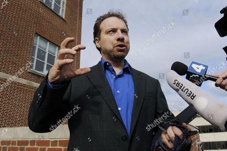 Astrophysicist Adam Riess Speaks with Members of the News Media After Being Awarded the 2011 Nobel Prize in Physics by the Royal Swedish Academy of Sciences at Johns Hopkins University in Baltimore Maryland Usa 04 October 2011 Riess is the the Krieger-eisenhower Professor in Physics and Astronomy and a Gilman Scholar at Johns Hopkins University He was Recognized by the Academy For His Role in the High-z Team's 1998 Discovery That the Expansion Rate of the Universe is Accelerating United States Baltimore
