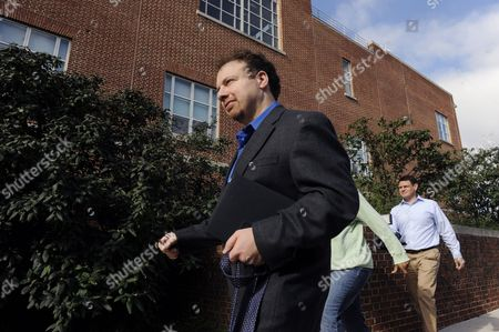Astrophysicist Adam Riess (c) Walks to His Office After Being Awarded the 2011 Nobel Prize in Physics by the Royal Swedish Academy of Sciences at Johns Hopkins University in Baltimore Maryland Usa 04 October 2011 Riess is the Krieger-eisenhower Professor in Physics and Astronomy and a Gilman Scholar at Johns Hopkins University He was Recognized by the Academy For His Role in the High-z Team's 1998 Discovery That the Expansion Rate of the Universe is Accelerating Epa/michael Reynolds United States Baltimore