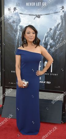 Japanese Actress Naoko Mori Arrives For the 'Everest' Premiere at the Tcl Chinese Theatre in Hollywood California Usa 09 September 2015 United States Hollywood