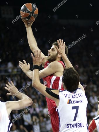 Editorial picture of Turkey Basketball Euroleague Play Offs - Apr 2013