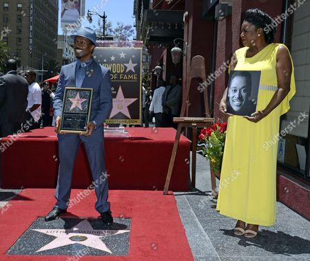 Editorial image of Usa Music Vandross Star Ceremony - Jun 2014